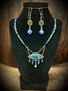 Azurite and Lapis Lazuli, Bronze