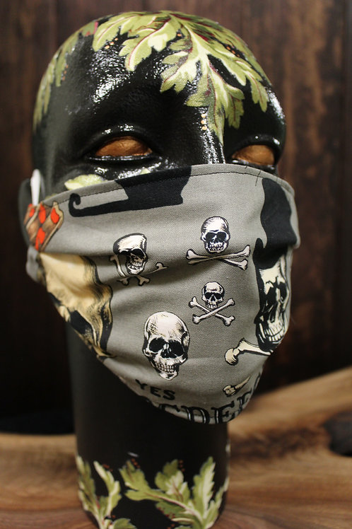 Crossbones Reminder Mask