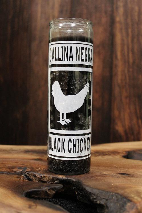 Black Chicken Jar Candle