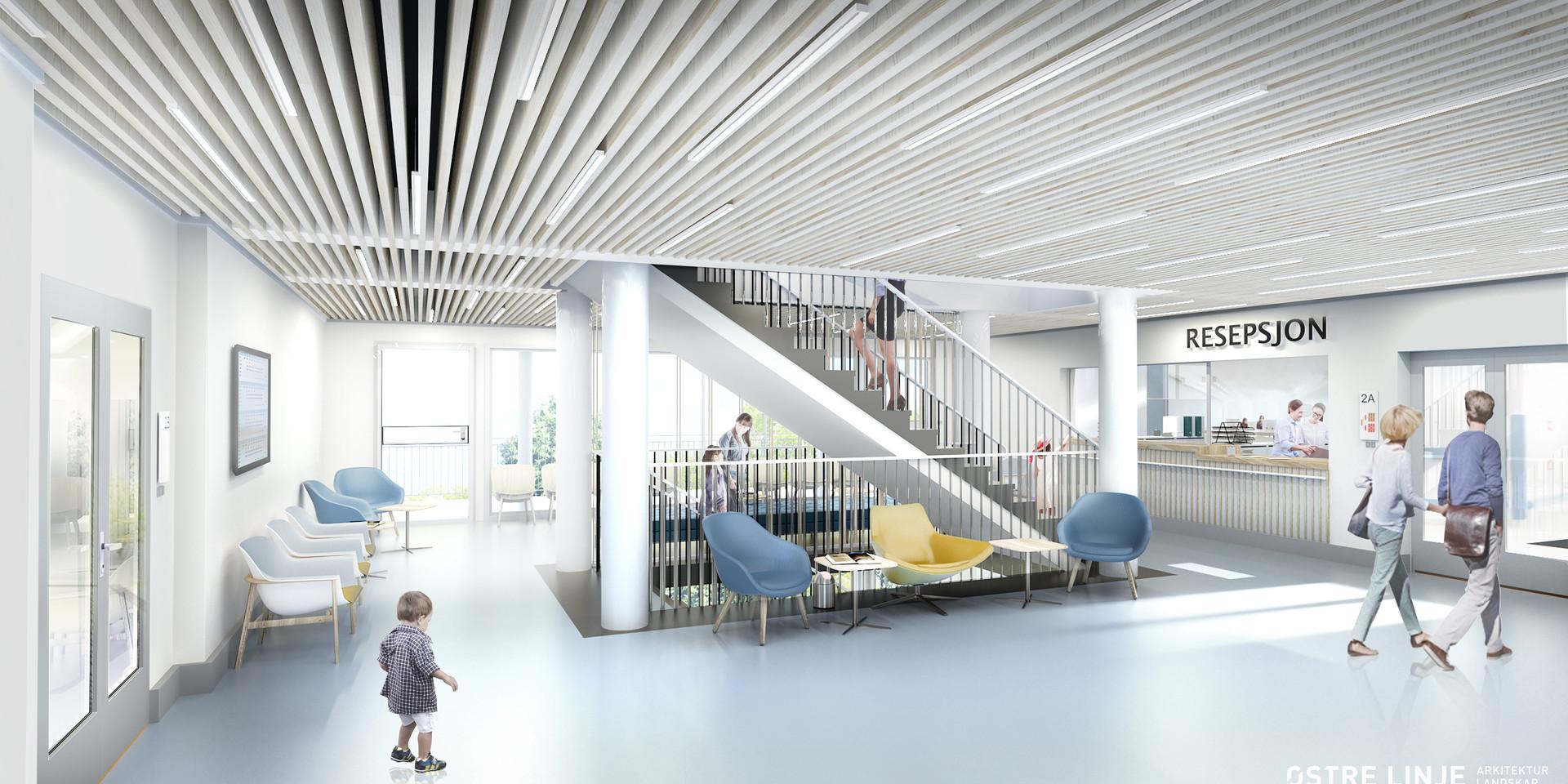 Helsehuset Askim, Østre Linje arkitektur og landskap AS