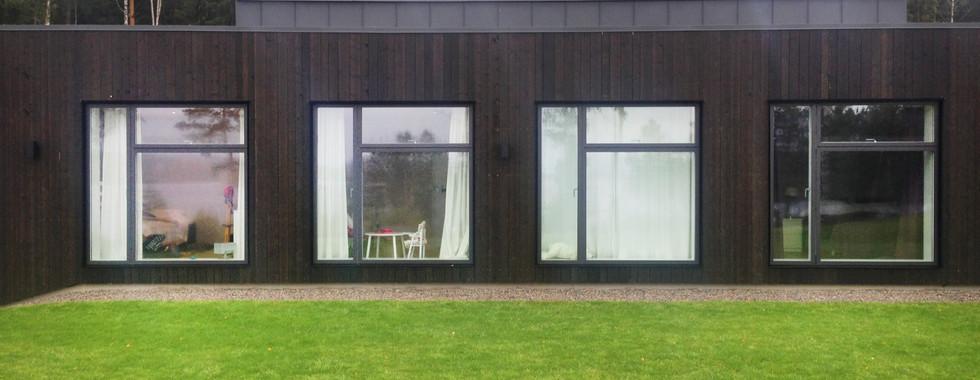 Enebolig Rømskog, Østre Linje arkitektur og landskap AS