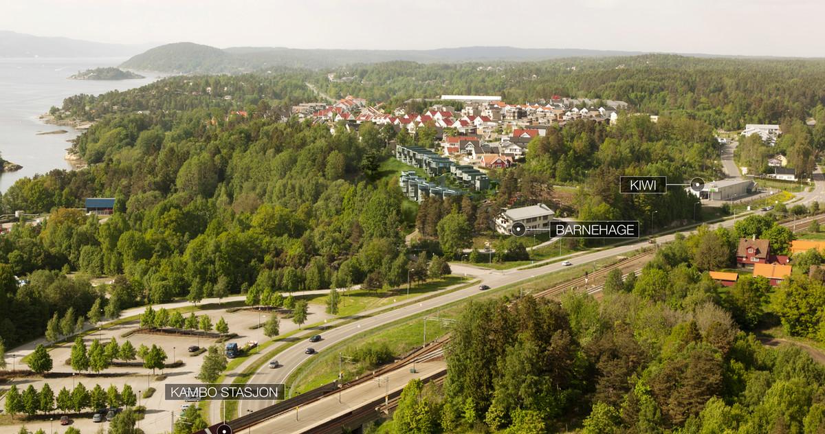 Østre Linje arkitektur og landskap