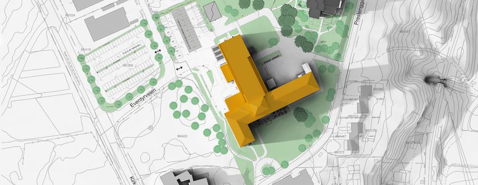 Helsehuset Askim, Østre Linje arkitektur og landskap ASHelsehuset Askim, Østre Linje arkitektur og landskap AS