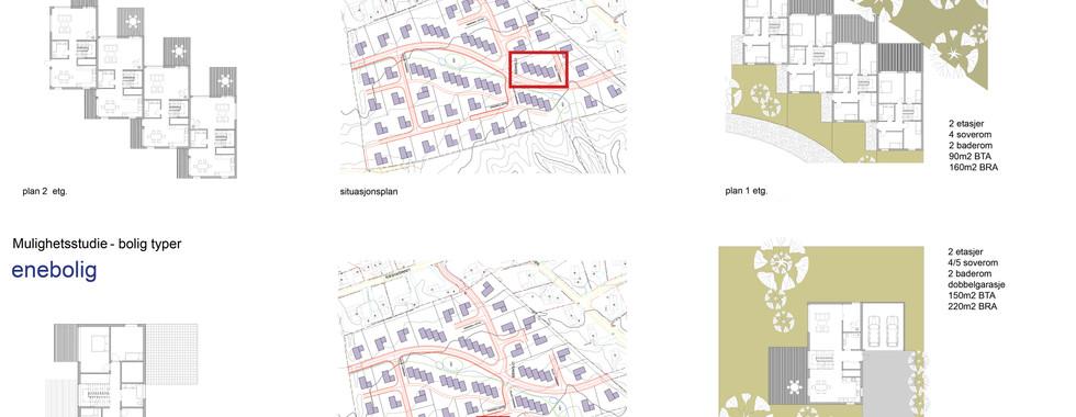 Boligområde Lysaker , Østre Linje arkitektur og landskap AS
