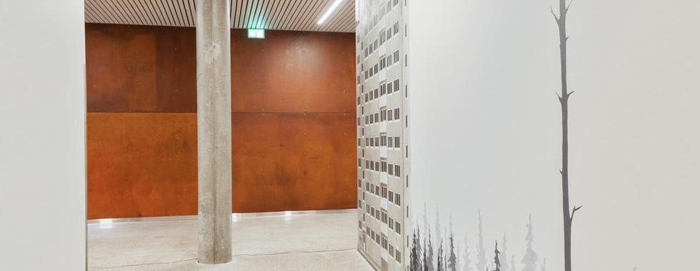 Distriktspsykiatriske senter, Askøy, Østre Linje arkitektur og landskap AS