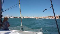 по Венеии на яхте