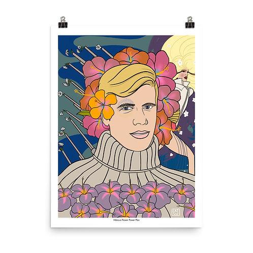Hibiscus ~ the Flower Power Man