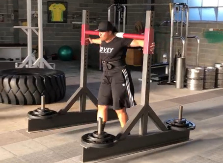 Warm Up Strategy for Strength Training