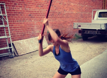 Sledgehammer Training