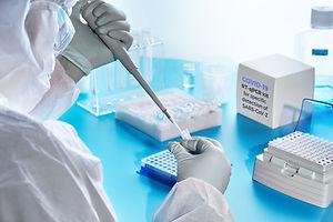 SARS-COV-2 pcr diagnostics kit. Epidemio