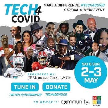 HBCU Heroes and Cxmmunity to host virtual telethon, Tech 4 Covid