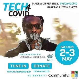 Title: Black Enterprise | Celebrities and athletes team up to host virtual telethon