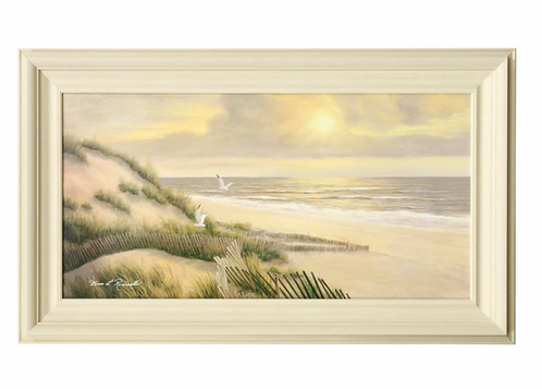 Textured Beach Print