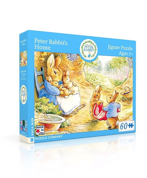 PUZZLE 60 PETER RABBITS HOME