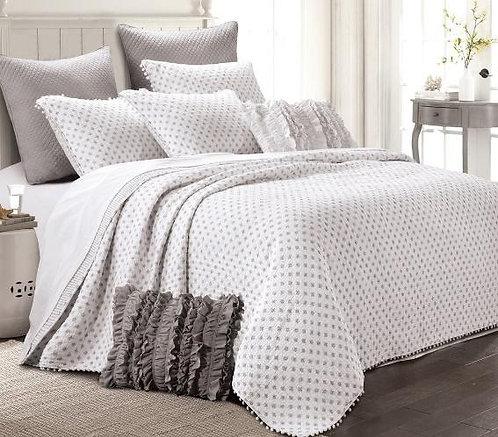 Quilt Set Astoria White - Full/Queen