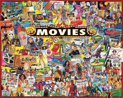 PUZZLE 1000 THE MOVIES