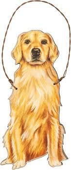 GOLDEN RETREIVER ORNAMENT
