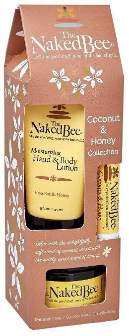 NAKED BEE - Assorted Coconut & Honey Gift Set