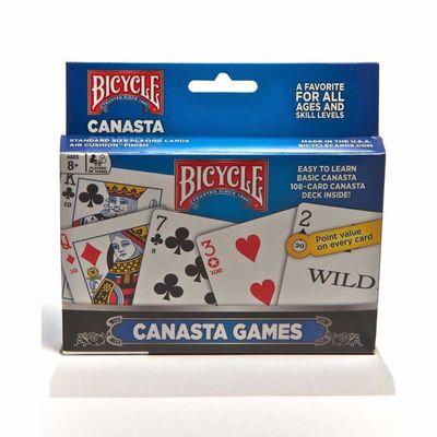 GAME CARD CANASTA