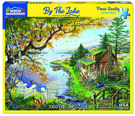 PUZZLE 1000 BY THE LAKE
