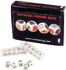 DICE ON CARD PK5 DISC