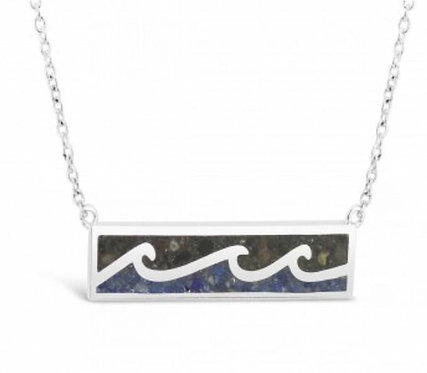 DUNE JEWELRY - Wave Bar Necklace