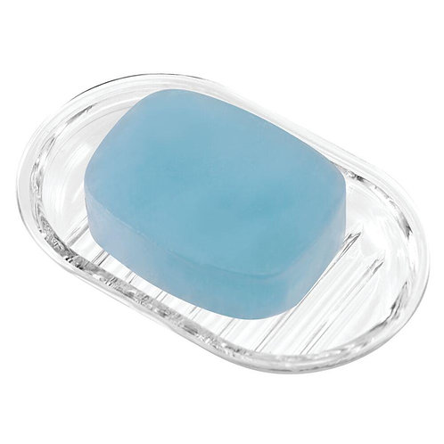 ROYAL ROUND CLEAR SOAP DISH
