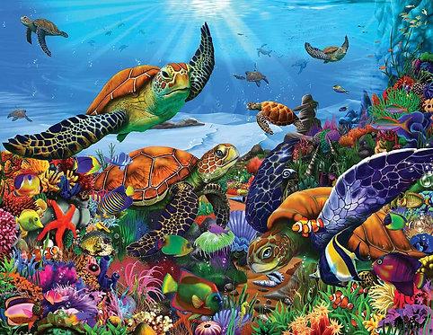 PUZZLE 350 AMAZING SEA TURTLES