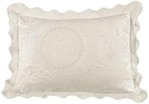 Standard Sham - English Rose Parchment