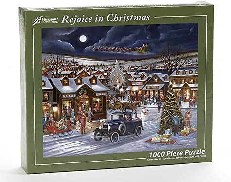 1000 pc Rejoice in Christmas Puzzle