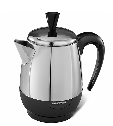 2- Cup Stainless Coffee Percolator
