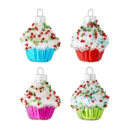 Cupcake Ornament (EACH)