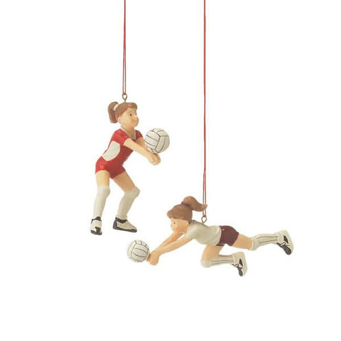 Volleyball Girl Ornament