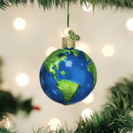 Old World Christmas Planet Earth Ornament