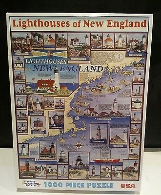 White Mountain - Lighthouses of New England Puzzle (1000 pieces)