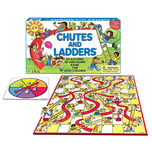 GAME CHUTES & LADDERS