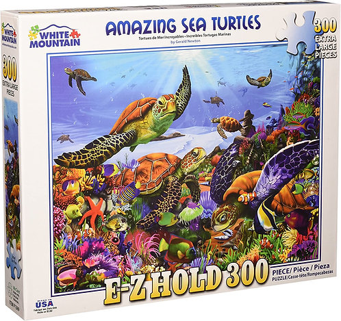 White Mountain - Amazing Sea Turtles Puzzle (350 pieces)