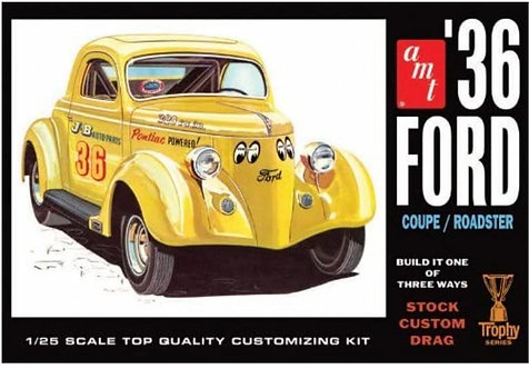 MODELS - 1/25 36 FORD COUPE