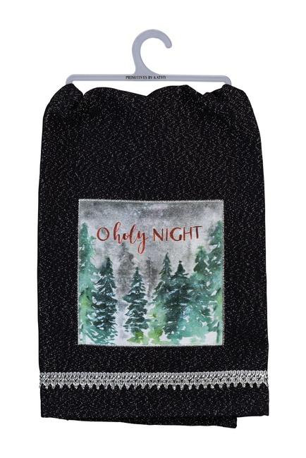 O Holy Night Dish Towel