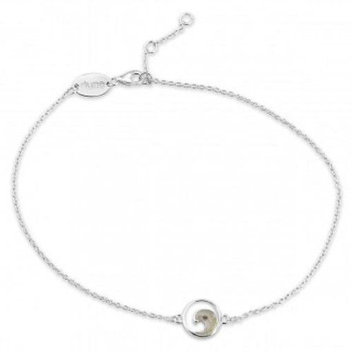 DUNE JEWELRY - Delicate Dune Wave Anklet