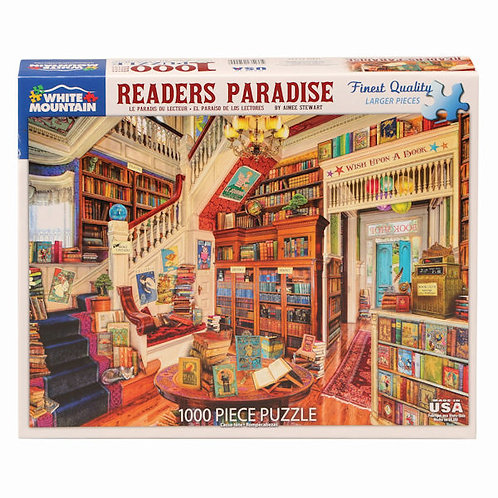 PUZZLE 1000 READERS PARADISE