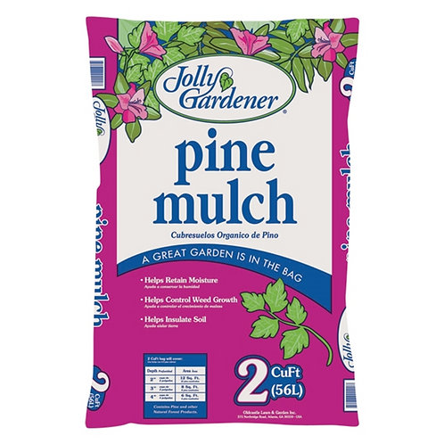 Jolly Gardener Pine Mulch, 2 cu ft