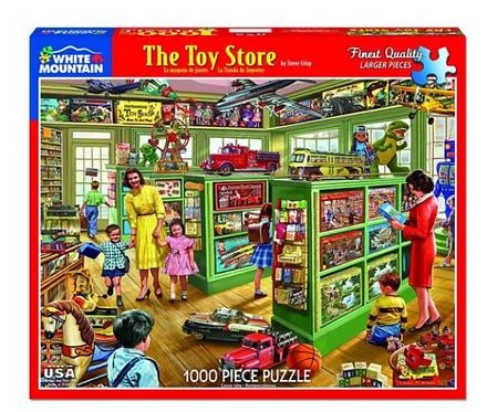 White Mountain - The Toy Store Puzzle