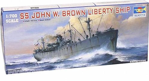 MODEL - SS JOHN W BROWN LIBERTY SHIP