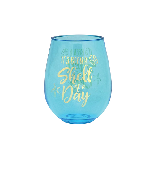 'Shell of a Day' Wine Tumbler
