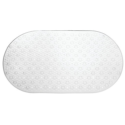 CLEAR CIRCLE BATH MAT
