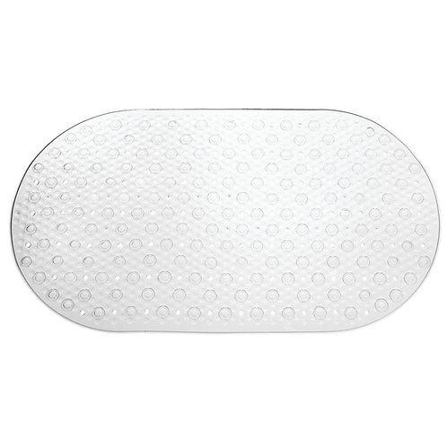 CLEAR CIRCLE BATH MAT