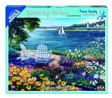 White Mountain - Garden by the Bay Puzzle