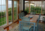 waterfront dining room: harborview cape cod vacation home