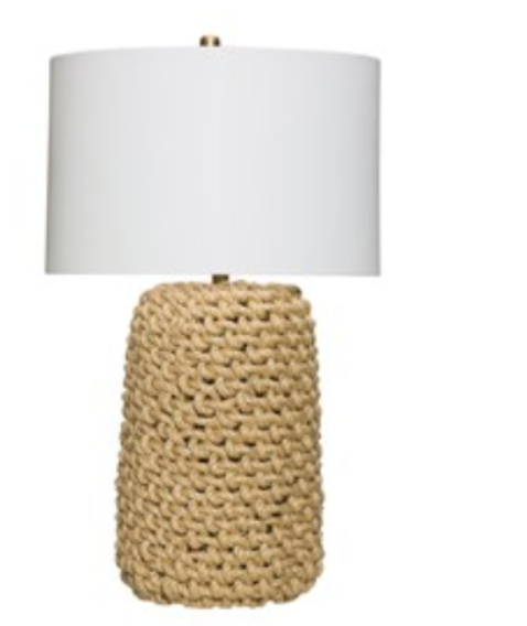 Jute Rope Lamp